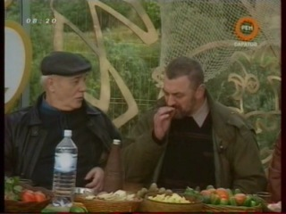 """1997 - Клуб """"Белый попугай"""". На рыбалке. Впервые без Юрия Владимировича Никулина."""